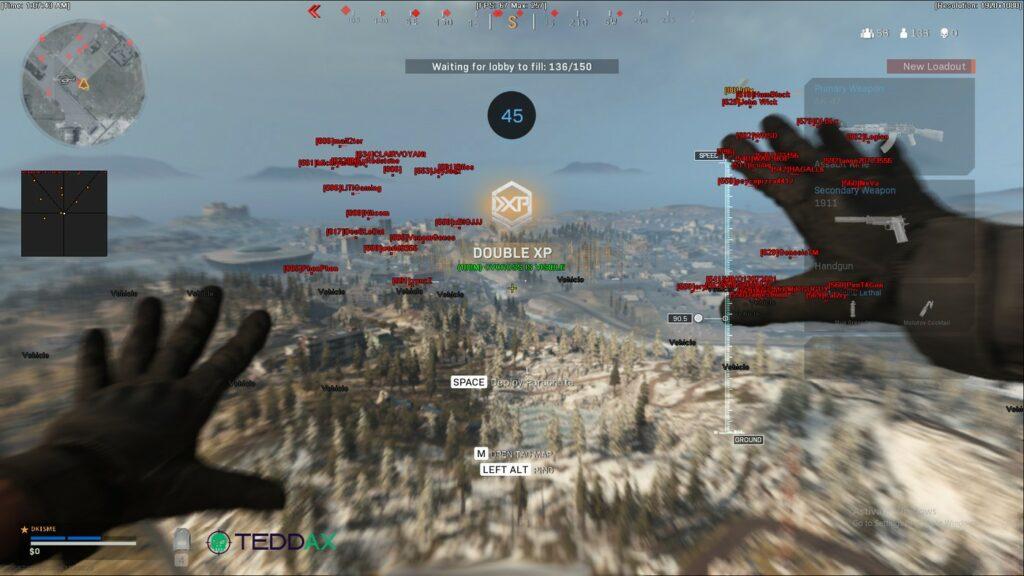 Warzone wallhack