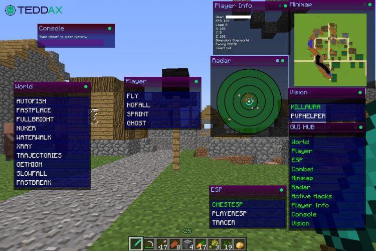 Download Minecraft Hacks