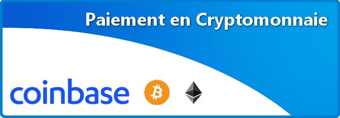 Paiement en Cryptomonnaie